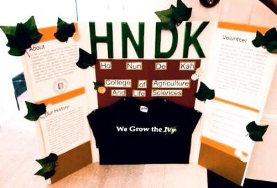 HNDK's new poster board